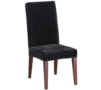 Sure Fit Stretch Plush Short Dining Chair Slipcover - H289799