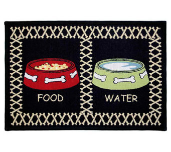 "Meal Time 19"" x 13"" Tapestry Rug - H349299"