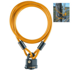 The Club 5' Security Cable with Weatherproof Padlock - H353299