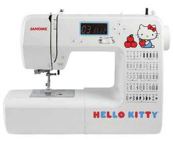 Janome Hello Kitty 18750 Computerized Sewing Machine - H360099