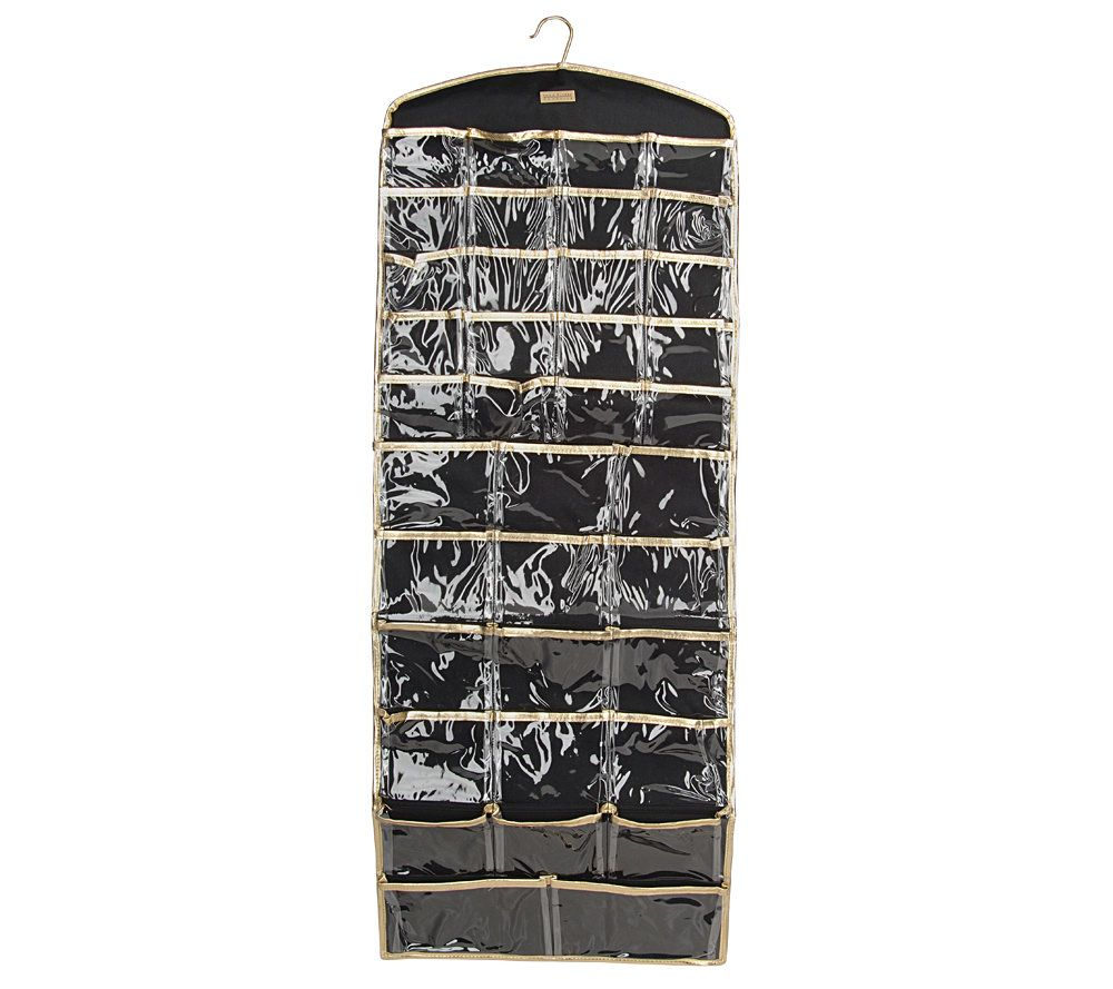 Joan Rivers Choice of BlackGold Hanging Organizers Page 1 QVCcom