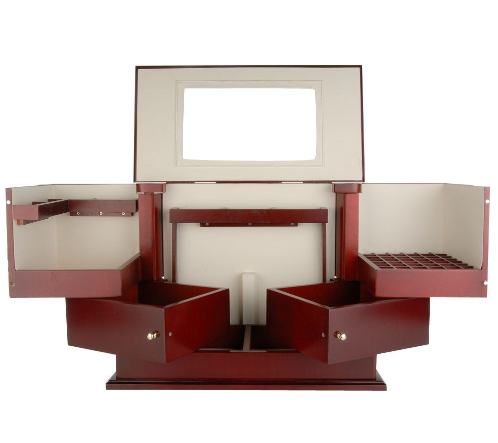 Deluxe Cosmetic Organizer by Lori Greiner Page 1 QVCcom