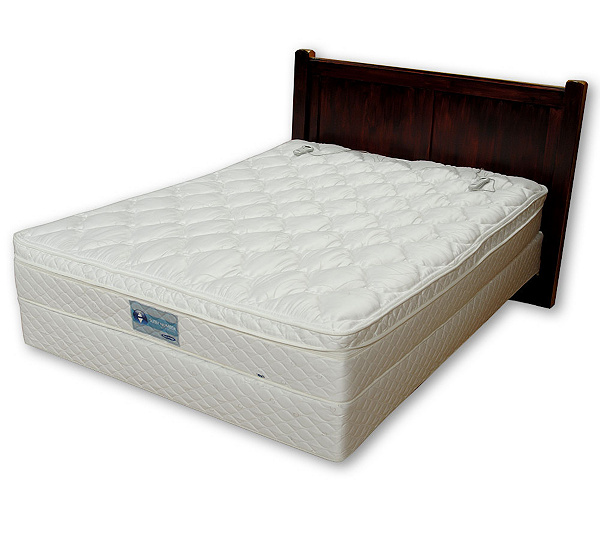 Sleep Number Qn 5000pt Bed Byselectcomfort W Pillowtop And Remotes Page 1 Qvc