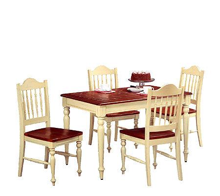 Betty Crocker Side Rectangular Dining Table ByHome Styles QVC