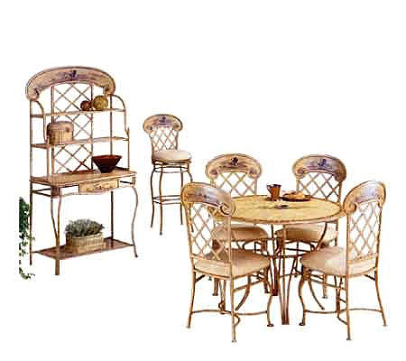 Hillsdale House Rooster Dining Table QVC