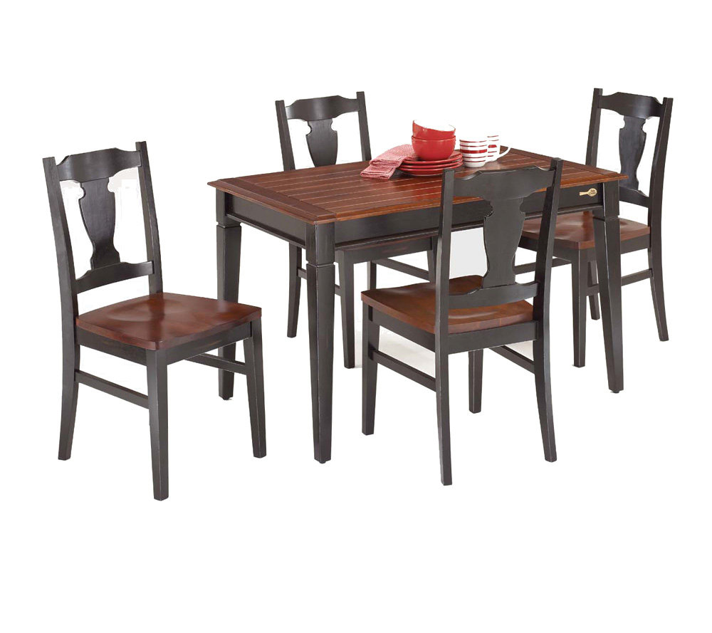 Betty Crocker Shaker Style Dining Table By HomeStyles QVC  : h136594qlt951ampopsharpen1ampidjsglD3ampfmtjpgampfitconstrain1ampwid600amphei533ampqlt951ampopsharpen1 from tolkienacrossthewater.com size 600 x 533 jpeg 72kB