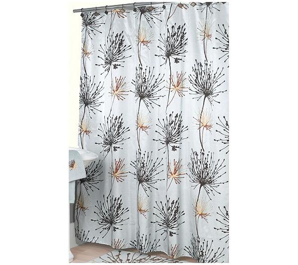 Dandelion Shower Curtain By Splash Page Qvc Com