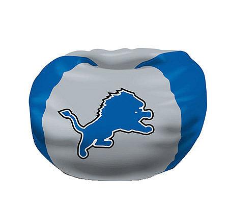 NFL Detroit Lions Bean Bag Chair QVC