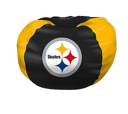 NFL Pittsburgh Steelers Bean Bag Chair QVC