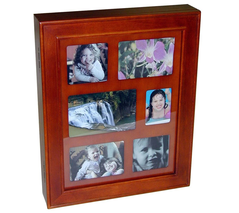 Mele Hanging Walnut Jewelry Box Frame QVCcom