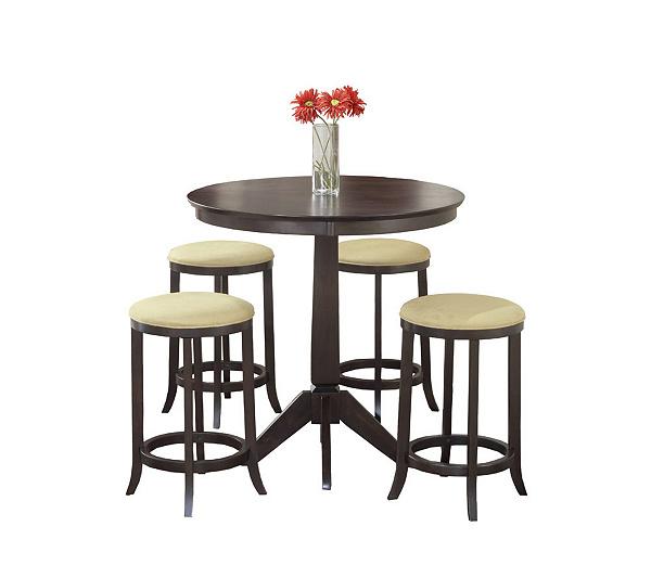 Hillsdale Furniture Tiburon 5 Piece Pub Table Set QVC