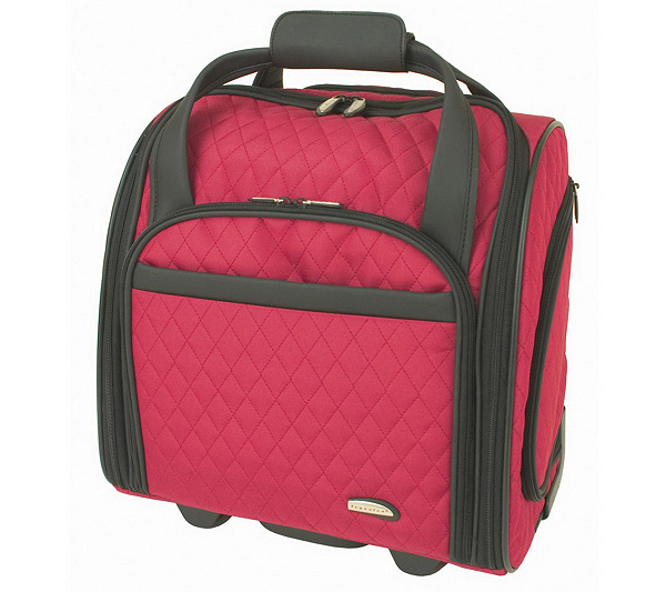 Travelon Wheeled Underseat Carry-On Bag with Back-Up Bag - Page 1 ...