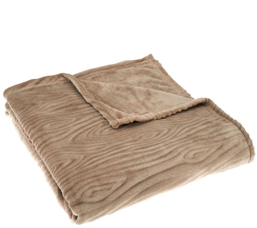 "Berkshire Blanket Lasercut Velvet Soft 50"" x 60"" Throw - Page 1 ..."
