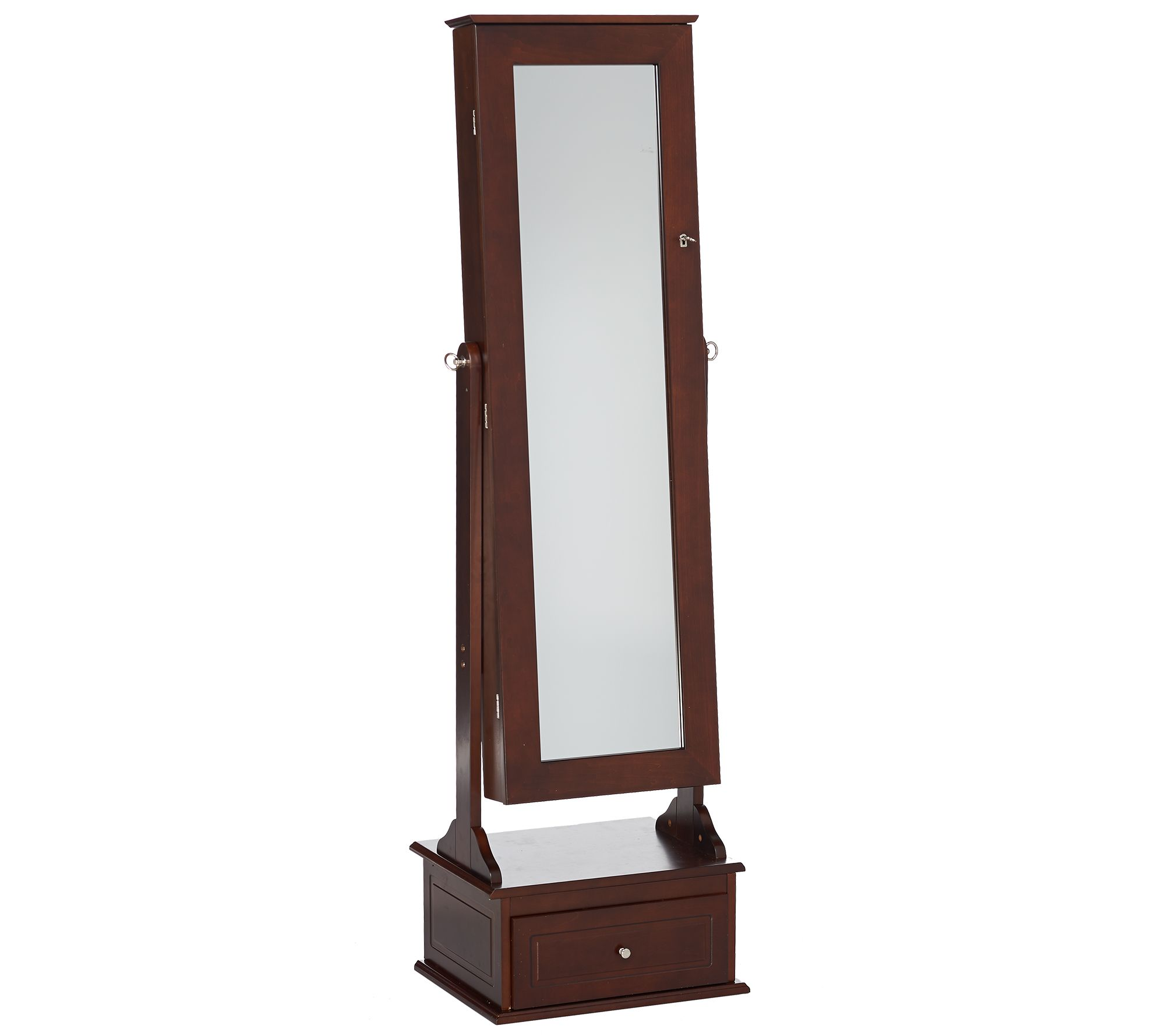 Safekeeper Jewelry Cabinet with Drawer by Lori Greiner Page 1