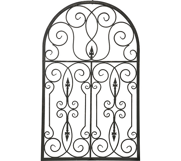 Baroque Metal Wall Decor by Valerie — QVC.com