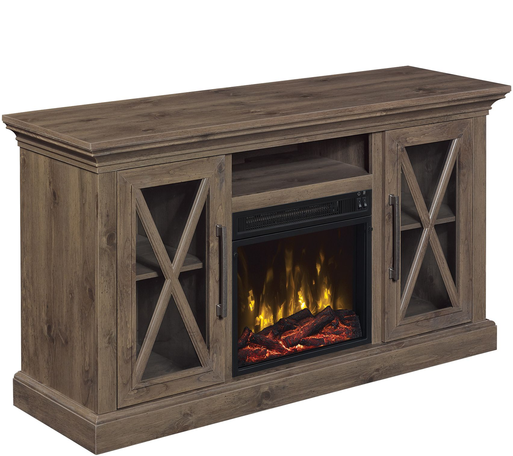 ClassicFlame Cottage Grove Fireplace TV Stand — QVC.com