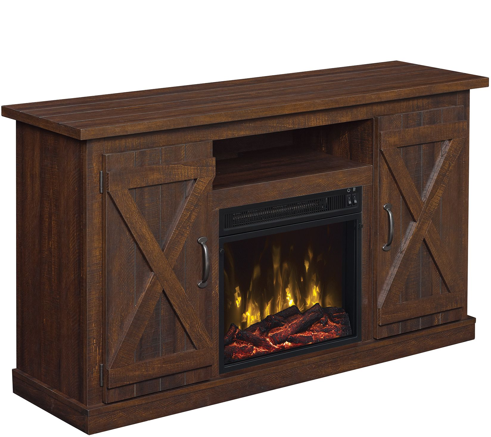 Classic Flame Cottonwood Fireplace TV Stand for TVs up to 55 ...