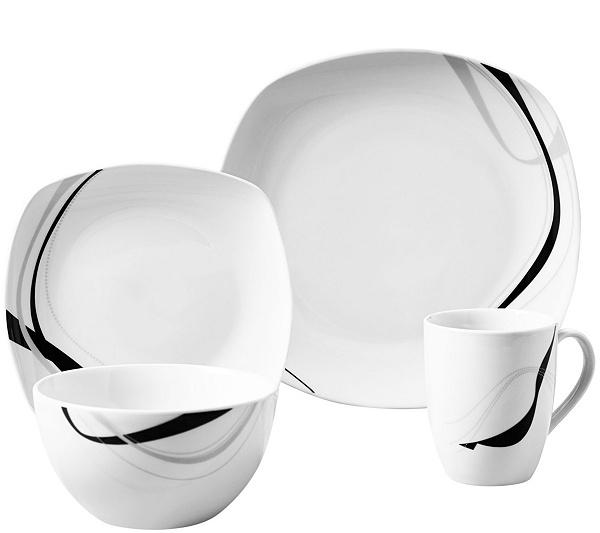 Tabletops Gallery 16-Piece Dinnerware Set - Carnival — QVC.com