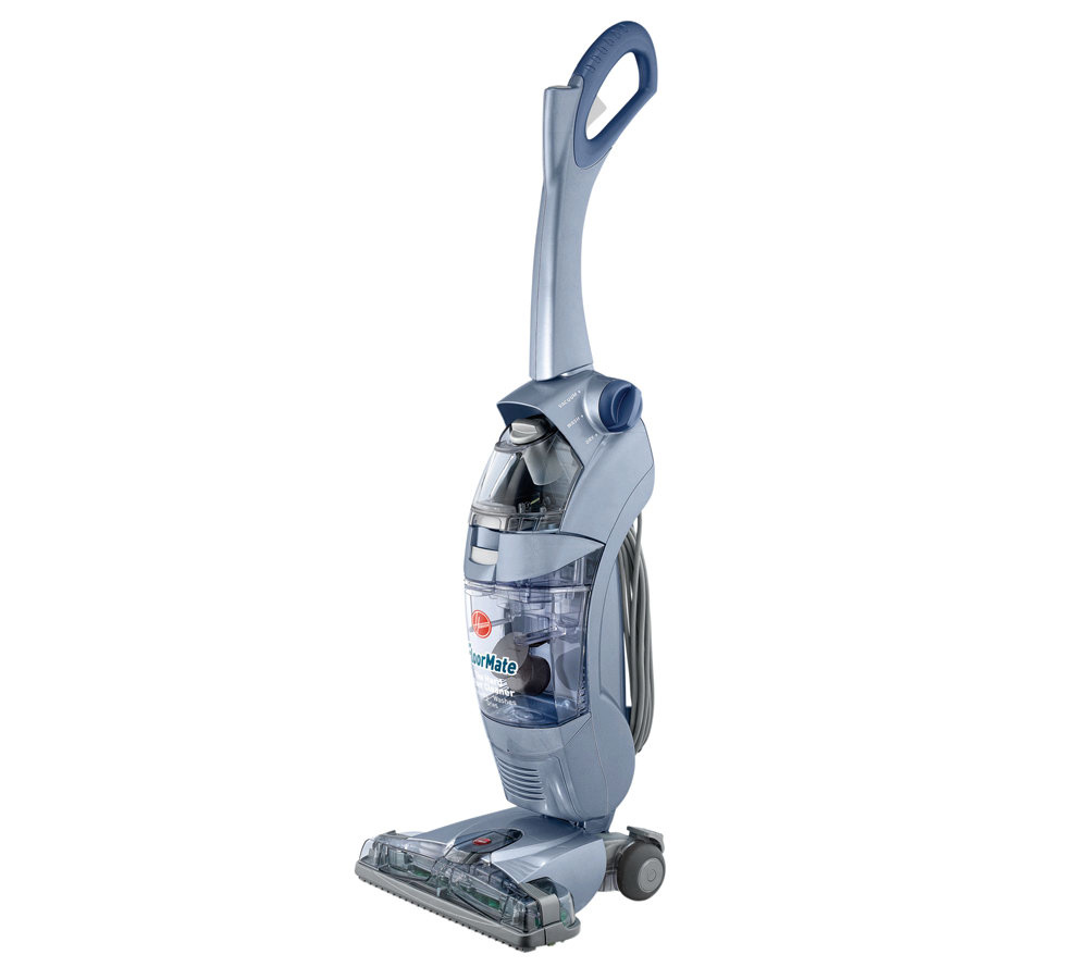 hoover floormate spinscrub hard floor cleaner,blue - page 1 — qvc