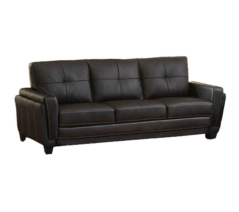 High Quality Blacksburg Bonded Leather Sofa   Page 1 U2014 QVC.com