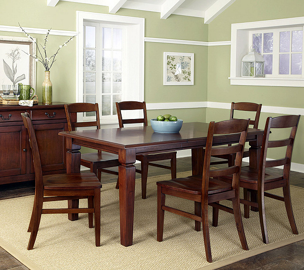 Home Styles The Aspen Collection 7 Piece Dining Set