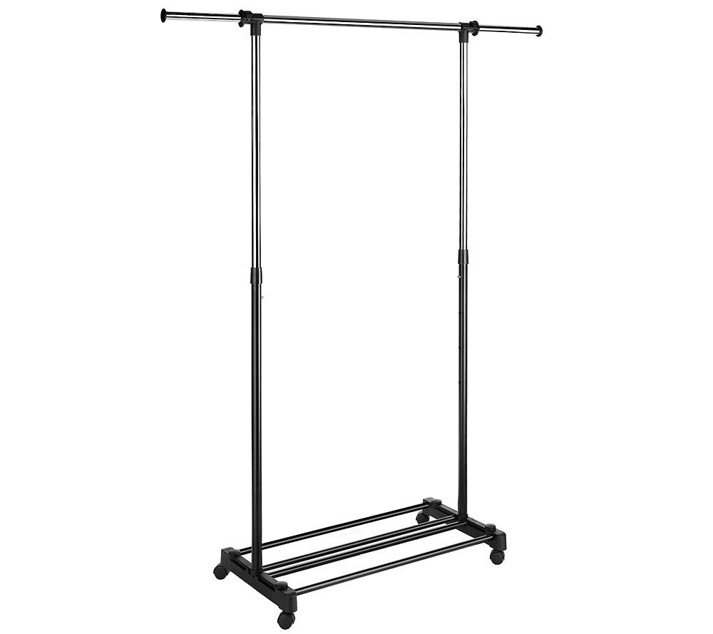 Whitmor Double Adjustable Garment Rack U2014 QVC.com