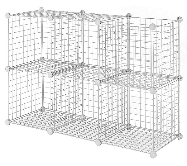 Whitmor Wire Storage Cubes Set 6 — QVC.com