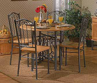 Home Styles Lyre Dining Chairs