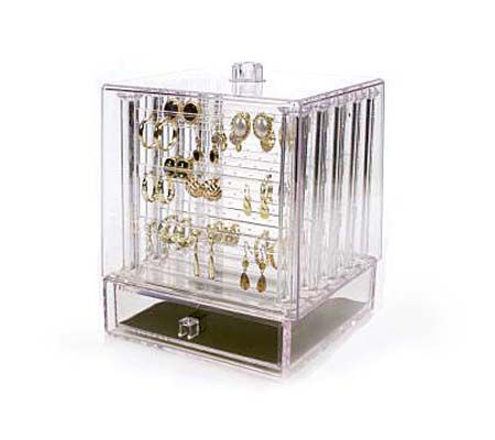 Earring Organizer with Cover by Lori Greiner QVCcom