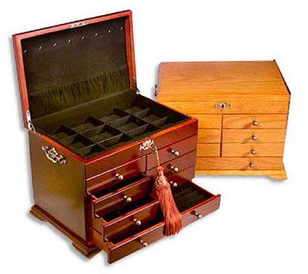 Thomas Pacconi Anti Tarnish Interchangeable Jewelry Box   Page 1 U2014 QVC.com