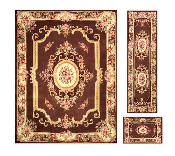 Royal Palace Alexandria Wool 7 6 X 9 Rug With Runner And Accent Page 1 Qvc