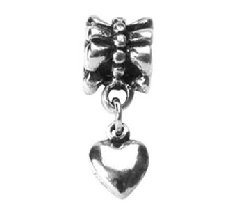 Prerogatives Sterling Heart Dangle Bead - J108500