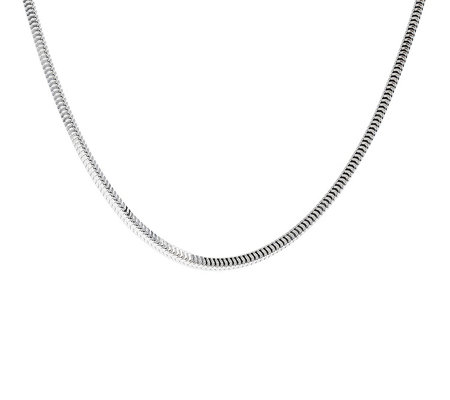 "Ultrafine Silver 18"" Snake Chain 11.5g"