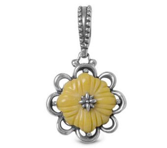 Carolyn Pollack Rodeo Sunflower Collection Charm - J110200