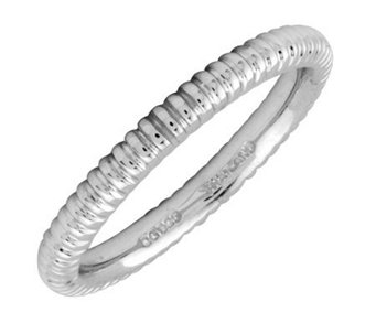 Simply Stacks Sterling Silver 2.25mm Ribbed Ring - J298900