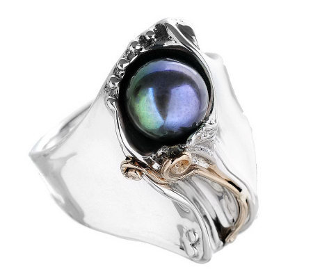 Hagit Gorali Sterling Cultured Freshwater Pearl Ring, 14K