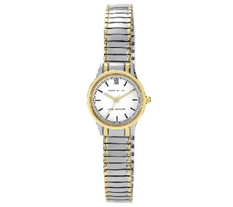 Anne Klein Women's Two-Tone Expansion Band Watch - J316300