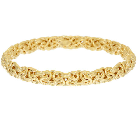 Oro Nuovo Large Woven Byzantine Bangle 14K