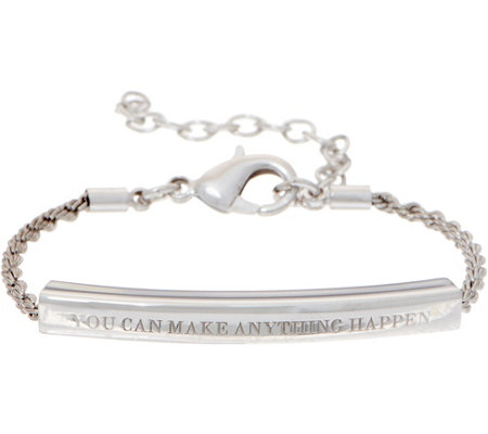 Stella Valle You Can Make Anything Happen Bracelet by Lori Greiner