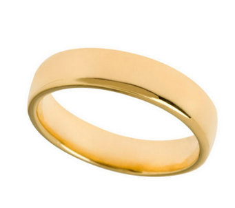 Veronese 18K Clad 5mm Silk Fit Band Ring - J299101