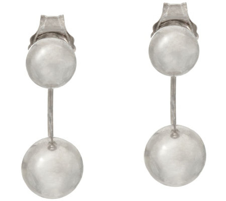 14K Gold Polished Stud Earring Jackets