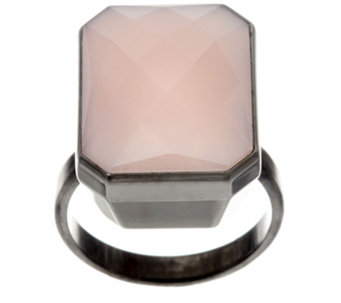 """As Is"" Ringly Gemstone Smartphone Connected Ring - J333901"