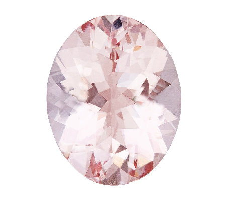 Premier 10x8mm Oval Morganite Gemstone