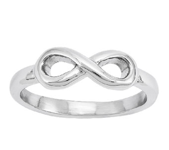 Stainless Steel Infinity Symbol Ring - J337801