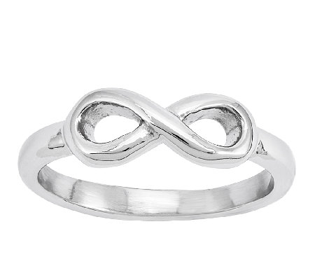 Stainless Steel Infinity Symbol Ring