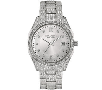 Caravelle New York Women's Crystal Watch - J344201