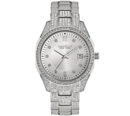 Caravelle New York Women's Crystal Watch