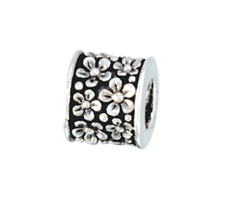 Prerogatives Sterling Flowers Bead
