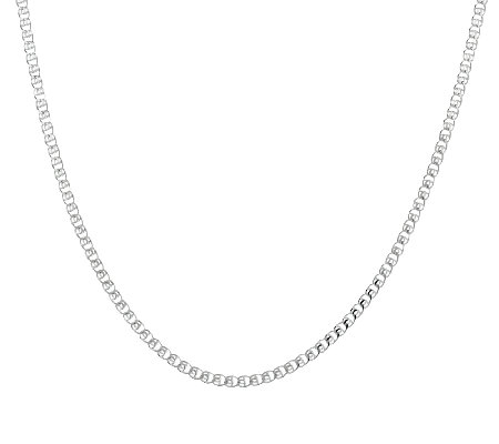 "Sterling 16"" Love Knot Chain"