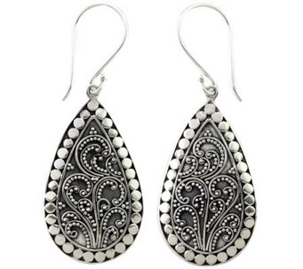 Novica Artisan Crafted Sterling Earrings - J309802